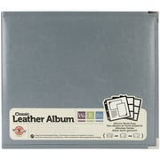 We R Memory Keepers 3-Ring Binder, 12 x 12, Charcoal Grey