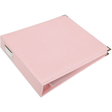 We R Memory Keepers 3-Ring Binder, 12in. x 12in., Pretty Pink