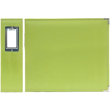 We R Memory Keepers 3-Ring Binder, 6in. x 6in., Kiwi Green