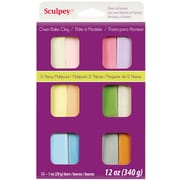 Polyform® Pastels Sculpey® III Multi Packs Oven Bake Polymer Clay