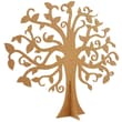 Kaisercraft Beyond The Page MDF 17 3/4in. x 15 5/8in. Large Family Tree, Beige