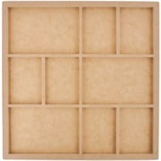 Kaisercraft Beyond The Page MDF 9 Frame Photo Display, Beige