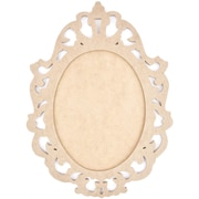 "Kaisercraft Beyond The Page MDF 18 3/4"" x 14"" Ornate Frame, Beige"