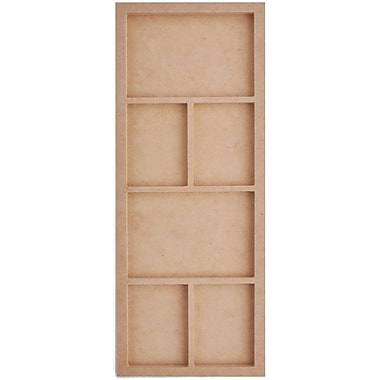 Kaisercraft Beyond The Page MDF 6 Frame Photo Display, Beige