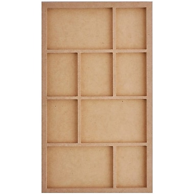 Kaisercraft Beyond The Page MDF Long Photo Display, Beige