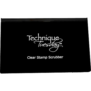 Technique Tuesday® Clear Stamp Scrubber