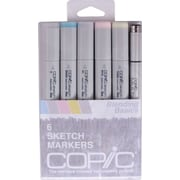 Copic® Marker 6 Piece Multiliner Pen Blending Basics Sketch Markers Set