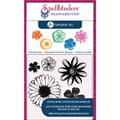 Hampton Art™ Spellbinders Stamp & Die Set, Cling Flowers