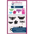 Hampton Art™ Spellbinders Stamp & Die Set, Cling Butterflies