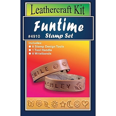 Silver Creek® Funtime Stamp Set Leather Kit