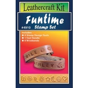 Silver Creek T491008 Gray/Silver Funtime Stamp Set Leather Kit