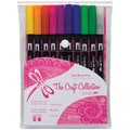 Tombow® 10 Piece Retro Dual Brush Marker Set