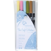 Tombow® 6 Piece Soda Shop Dual Brush Marker Set
