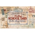 TJ Designs 5 1/4in. x 8 1/4in. Stamp Set, Vintage School Days