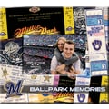 That's My Ticket 8in. x 8in. Ticket & Photo Scrapbook, Milwaukee Brewers