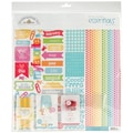 Doodlebug Take Note Essentials Page Kit, 12in. x 12in.