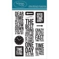 Technique Tuesday® 4in. x 6in. Clear Stamp, Dear Time