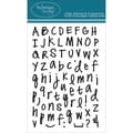Technique Tuesday® 4in. x 6in. Clear Stamp, Handwritten Alphabet Medium