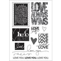 Technique Tuesday® 4in. x 6in. Clear Stamp, Love Always