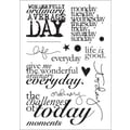 Technique Tuesday® 4in. x 6in. Clear Stamp, Ordinary Days