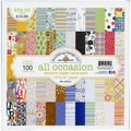 Doodlebug All Occasions Pattern Paper, 12in. x 12in., 3/Pack
