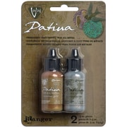 Ranger Vintaj Treasured Heirloom Patina Kit, Nouveau Silver/Victorian Gold