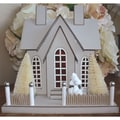 Melissa Frances DIY Large Queen Anne Chipboard House Kit