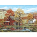 White Mountain Puzzle 24in. x 30in. Jigsaw Puzzle, in. Friends In Autumn in.