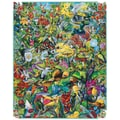 White Mountain Puzzle 24in. x 30in. Jigsaw Puzzle, in. Hummingbirds in.