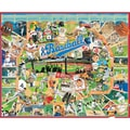 White Mountain Puzzle 24in. x 30in. Jigsaw Puzzle, in. Baseball in.