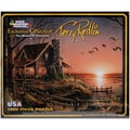 White Mountain Puzzle 24in. x 30in. Terry Redlin Jigsaw Puzzle, in. Comforts Of Home in.