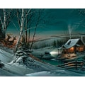 White Mountain Puzzle 24in. x 30in. Terry Redlin Jigsaw Puzzle, in. Evening With Friends in.