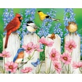 White Mountain Puzzle 24in. x 30in. Jigsaw Puzzle, in. Picket Fence Pals in.