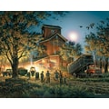 White Mountain Puzzle 24in. x 30in. Terry Redlin Jigsaw Puzzle, in. Bountiful Harvest in.
