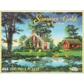 White Mountain Puzzle 24in. x 30in. Jigsaw Puzzle Fred Swan, in. Summer Gold in.