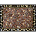 White Mountain Puzzle 18in. x 24in. Jigsaw Puzzle, in. Loose Change in.