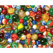 """White Mountain Puzzle 24"""" x 30"""" Jigsaw Puzzle, """" Lose Your Marbles """""""