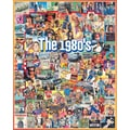 White Mountain Puzzle 24in. x 30in. Ultimate Trivia Jigsaw Puzzle, in. The Eighties in.