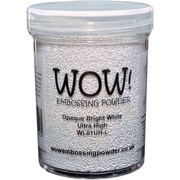 Wow Embossing 160 ml Powder Large Jar, Opaque Bright White