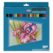 Royal Brush Water Color Pencils, 24/Pack, Assortment