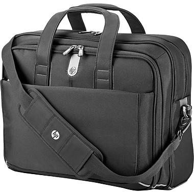 HP® 15.6in. Professional Top Load Carrying Case For Notebook, Black