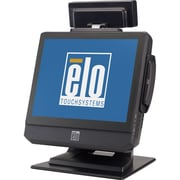ELO iTouch Plus B2 Rev.B 17 All-in-One Desktop Touchcomputer, Dark Grey