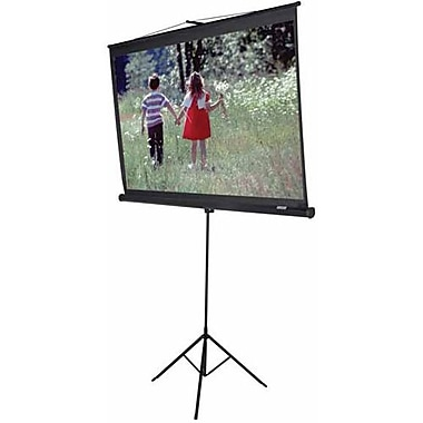 Elite Screens® Tripod Series 120in. Manual Projection Screen, 4:3, White Casing