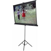 Elite Screens® Tripod Series 120 Manual Projection Screen, 4:3, White Casing