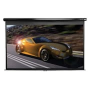 Elite Screens® Manual Series 94 Manual Projection Screen, 16:10, Black Casing