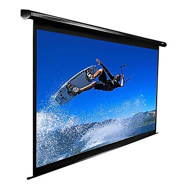 Elite Screens® VMAX2 Series 110in. Electric Projection Screen, 16:9, Black Casing