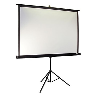 Elite Screens® Tripod Pro Series 85in. Portable Projection Screen, 1:1, Black Casing
