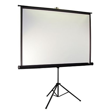 Elite Screens® Tripod Pro Series 113in. Portable Projection Screen, 1:1, Black Casing