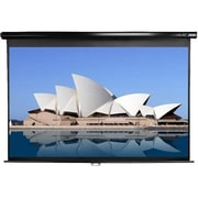 Elite Screens® Manual Series 109 Manual Projection Screen, 16:10, Black Casing