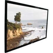 Elite Screens® SableFrame Series 114 Fixed Frame Projection Screens, 16:10, Black Casing